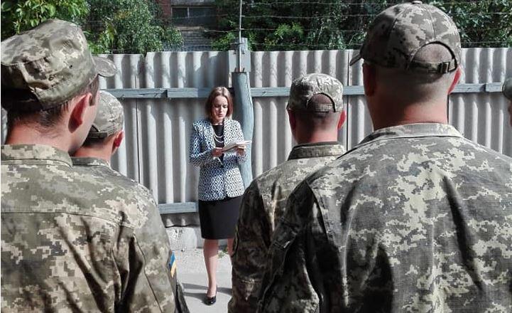 Інформаційно-роз'яснювальний захід для захисників України