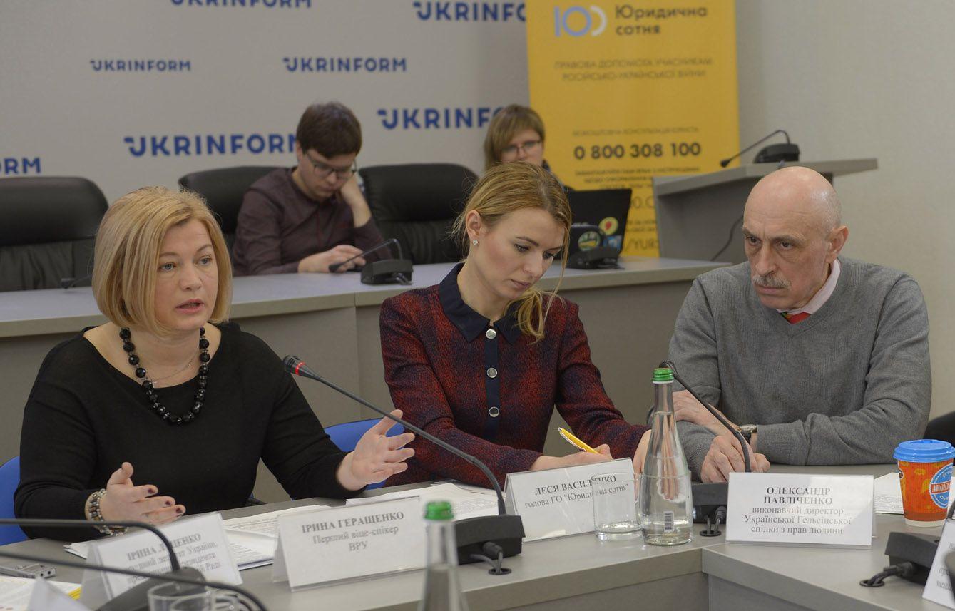 Питання українських заручників, політв'язнів