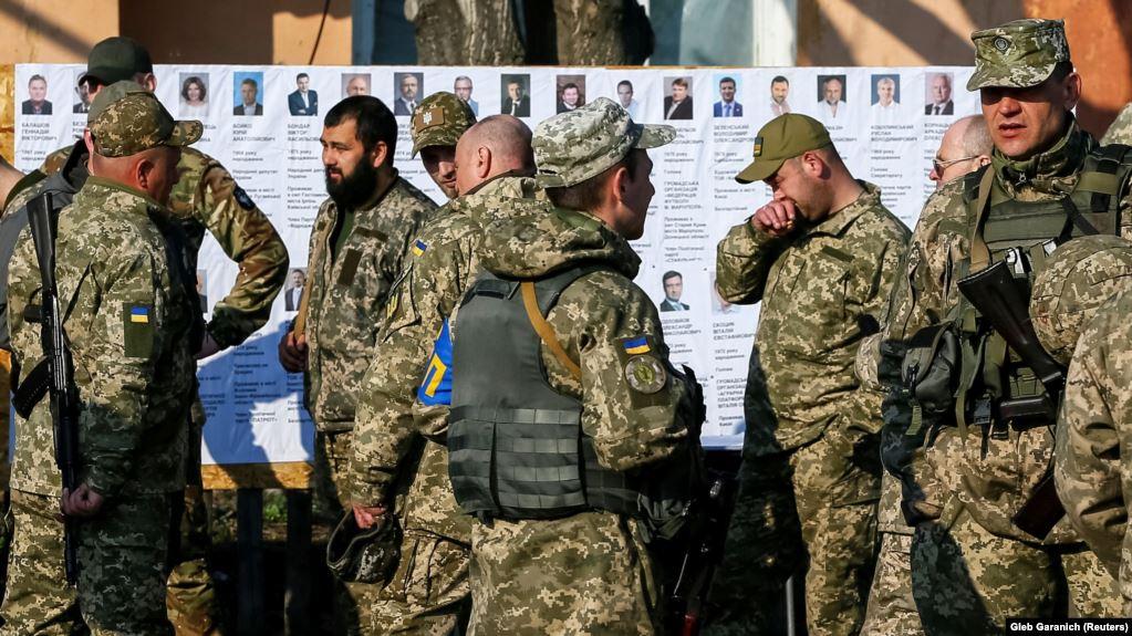 Військовим в ООС голосувати буде складніше
